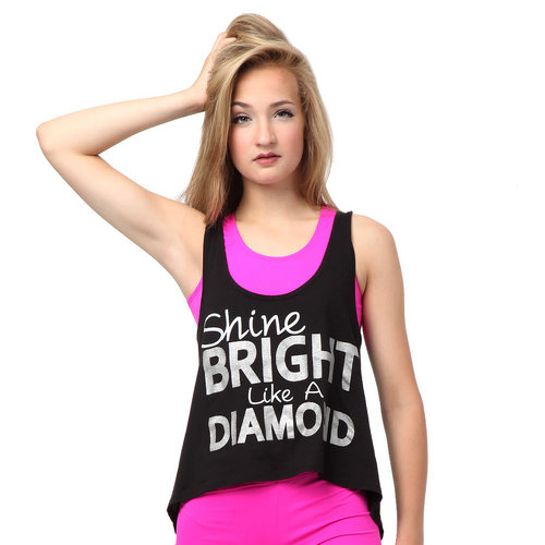 Luv Dance Shine Bright Like a Diamond Tank : LD1001