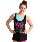 Dance Hard Flowy Tank by Luv Dance : LD1003