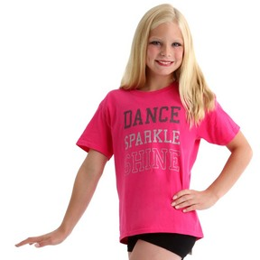 Dance Sparkle Shine Tee