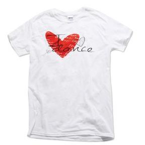 Youth Luv Dance Heart Tee