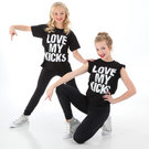 Youth Love My Kicks Tee : LD1051C