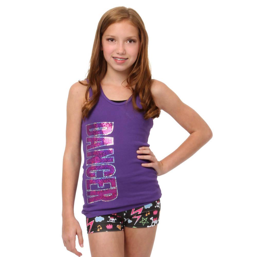 82f9f30c1ab0 Youth Dancer Sequin Tank   LD1076