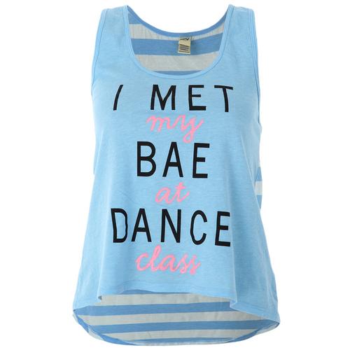 Girls I Met My Bae Tank : LD1104C