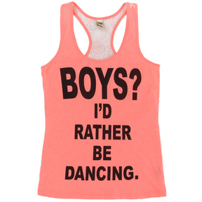 Girls I'd Rather Be Dancing Tank