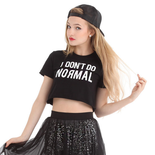 LD1135 : I Don't Do Normal Tee