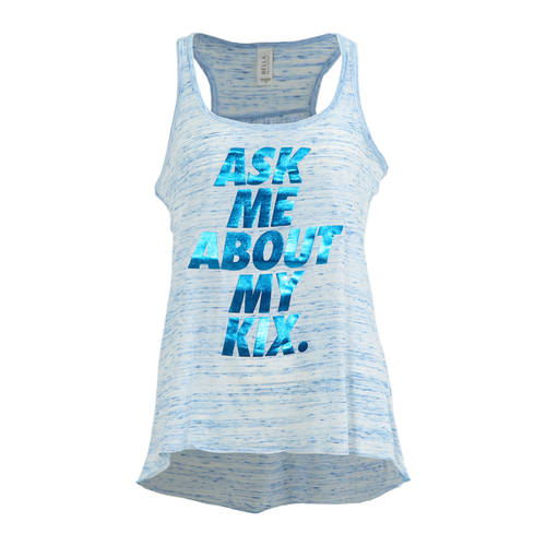 Ask Me About My Kix Tank : LD1147