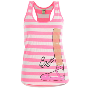Girls Pink Bae Turn Out Tank