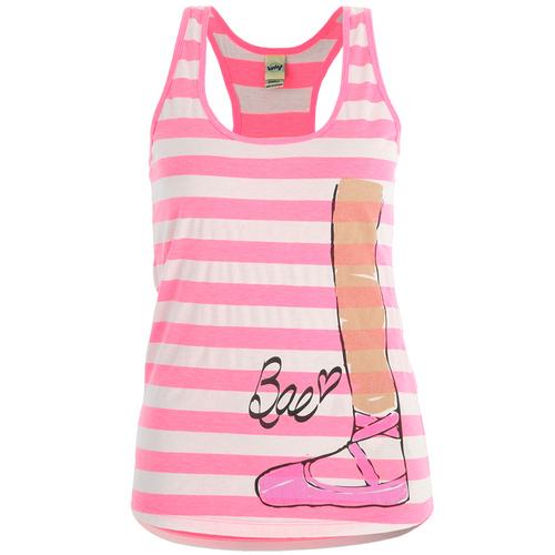 Adult Pink Bae Turn Out Tank : LD1152