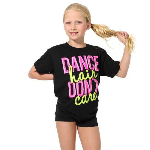 Youth Dance Hair Dont Care T-Shirt : LD1166C