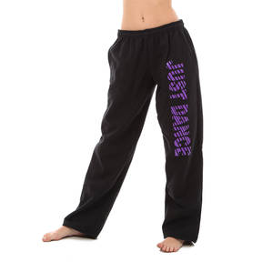 Girls Just Dance Black/Purple Sweatpants