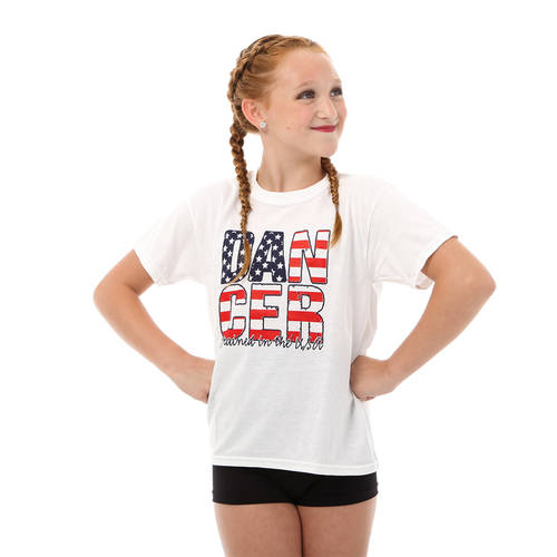 Youth Dancer Trained in USA T-Shirt : LD1185C