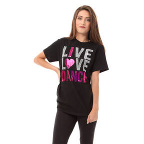 Live Love Dance Sequin