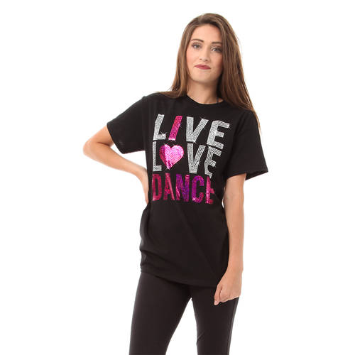 Youth Live Love Dance Sequin: LD1193C