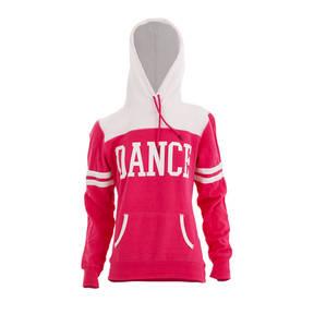Dance Pink Varsity Hoodie