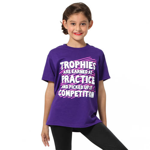 Youth Trophies Earned Tee : LD1223C