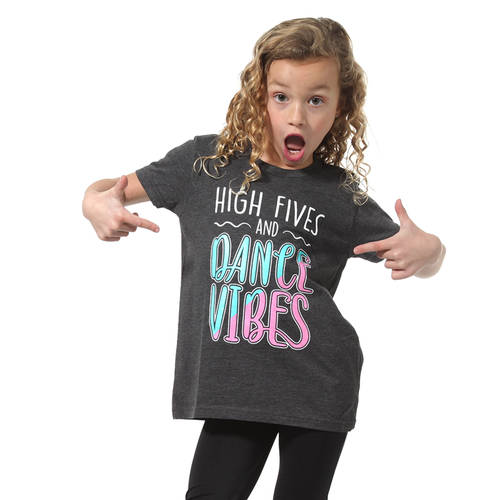 High Fives and Dance Vibes Tee : LD1232