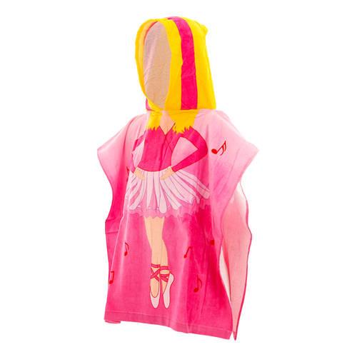 Poncho Hooded Ballerina Towel : LD1247