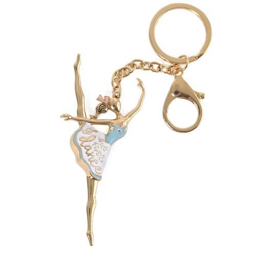 Blue Ballerina Keychain : LD1256