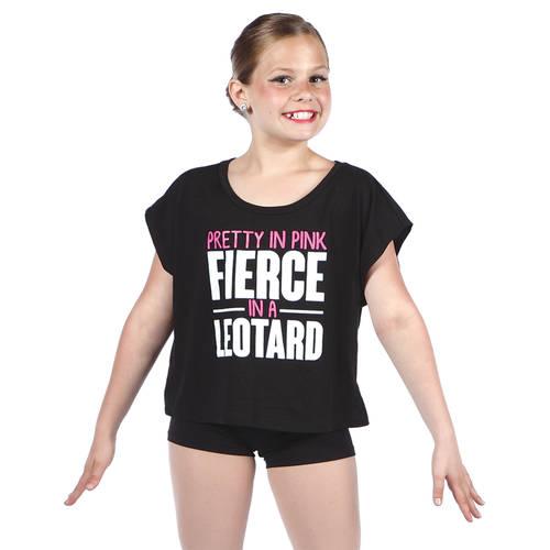 Youth Pretty in Pink Fierce in a Leotard : LD1257C
