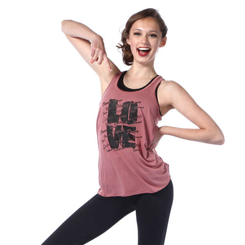 Love Dance Grunge Tank : LD1274