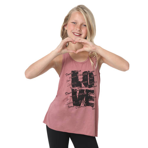 Youth Love Dance Grunge Tank : LD1274C