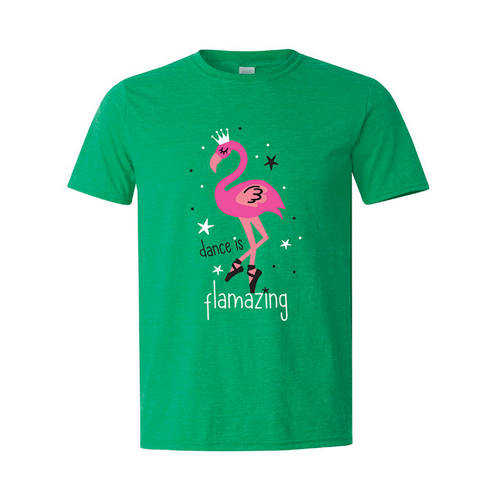 Dance Is Flamazing Tee : LD1294