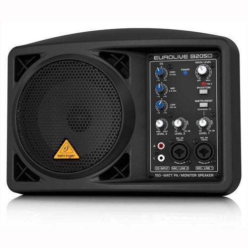Behringer Eurolive Active 150 Watt PA/Monitor Speaker System : B205D