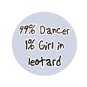 99% Dancer Pin