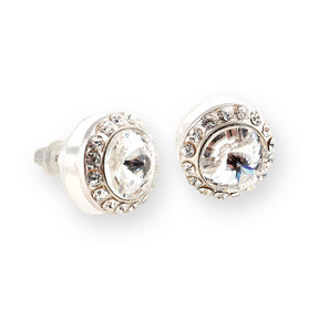 Celestial Button Post Earrings