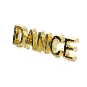 Dance Metal Award Pin