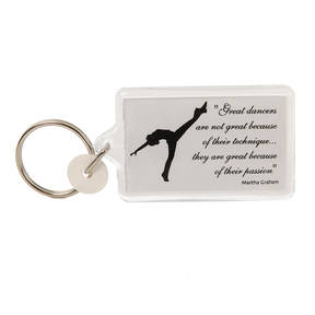 Great Dancers Keyring