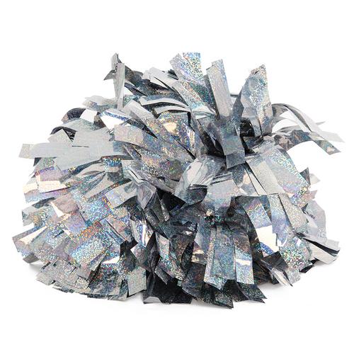 6 Inch Solid Metallic Pom : POM