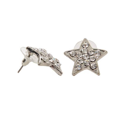 Rhinestone Star Earrings : RU-3