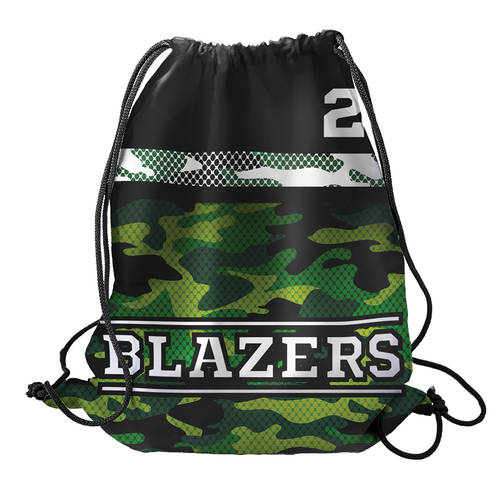 MOVE U Camo Custom Team Cinch Sack : SF1025