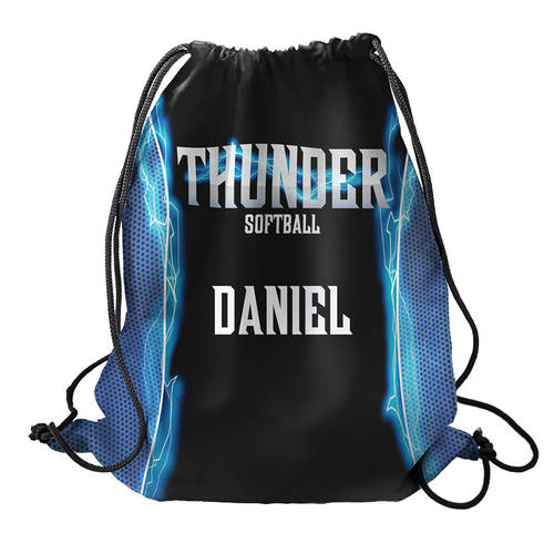MOVE U Thunder Custom Team Cinch Sack : SF1132