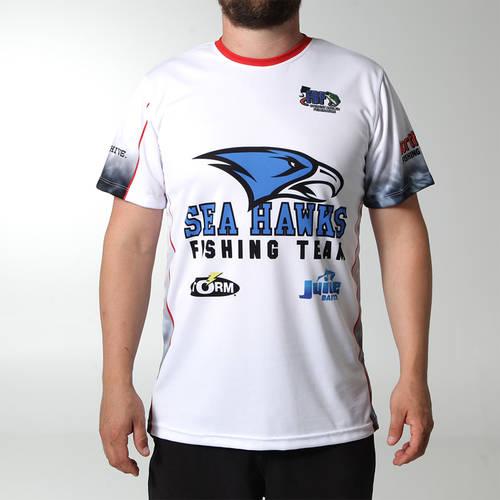 MOVE U Pebble Custom Short Sleeve Fishing Jersey : FS1022