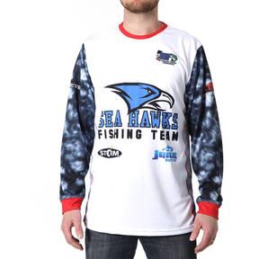 MOVE U Pebble Custom Long Sleeve Fishing Jersey
