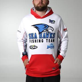MOVE U Pebble Custom Hooded Fishing Sweatshirt