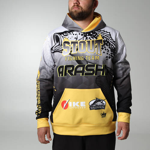 MOVE U Fog Custom Hooded Fishing Sweatshirt : FS1034