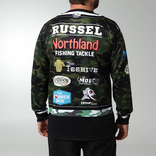 MOVE U Scope Custom Long Sleeve Fishing Jersey : FS1043