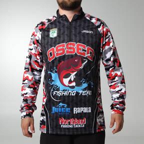 MOVE U Finder Custom Fishing Long Sleeve Quarter Zip