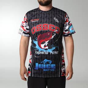 MOVE U Finder Custom Fishing Short Sleeve Jersey