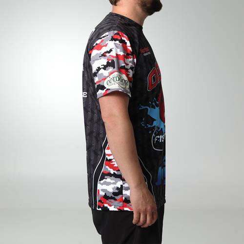 MOVE U Finder Custom Fishing Short Sleeve Jersey : FS1052