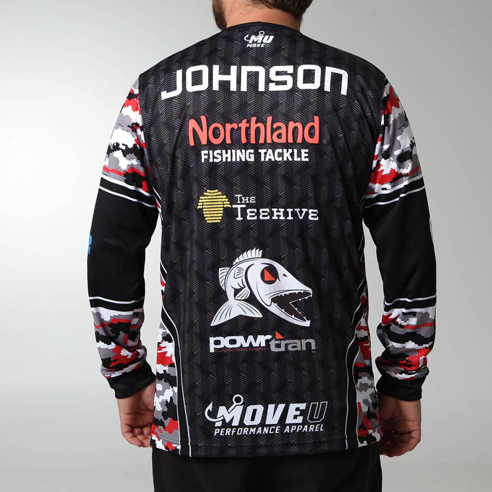 Move U Finder Custom Long Sleeve Fishing Jersey Fs1053