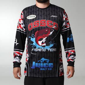 MOVE U Finder Custom Long Sleeve Fishing Jersey