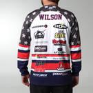 MOVE U Liberty Custom Long Sleeve Fishing Jersey : FS1063