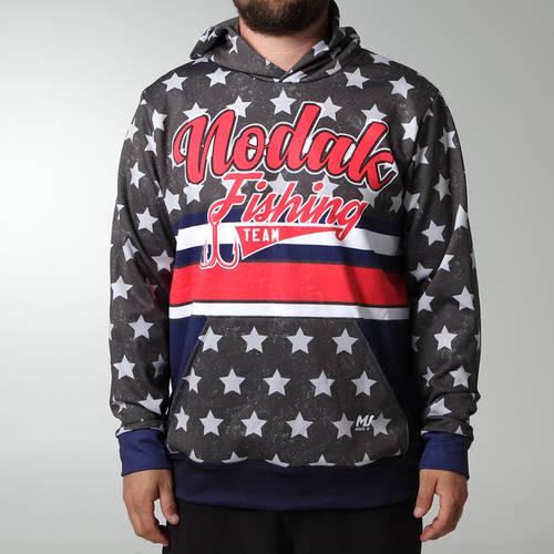 MOVE U Liberty Custom Hooded Fishing Sweatshirt : FS1064