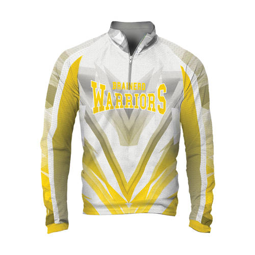 MOVE U Armour Custom Mens Cheer Quarter Zip Shirt : GP001