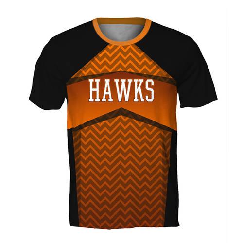 MOVE U Captain Custom Mens Cheer T-Shirt : GP032