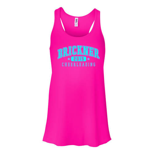 MoveU Flowy Racerback Spirit Cheer Tank : GP055